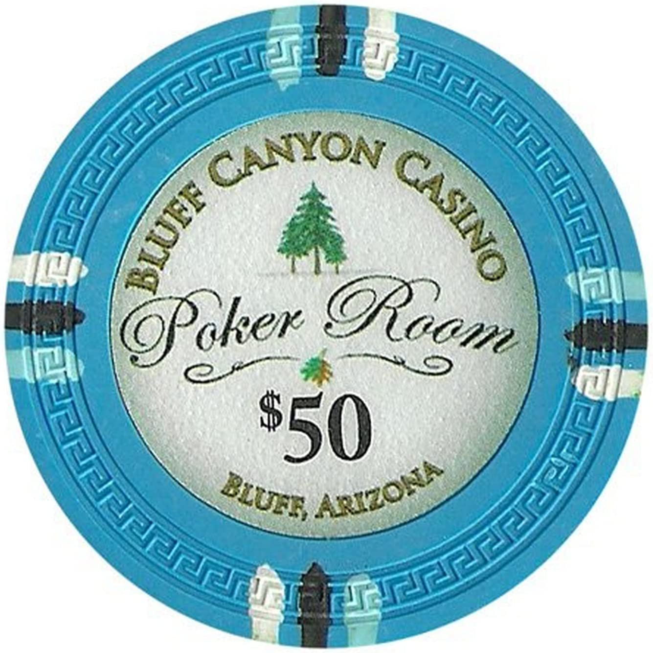 Claysmith Gaming $50 Clay Composite Outlet Inventory cleanup selling sale sale feature Bluff 13.5 Canyon Gram Poker
