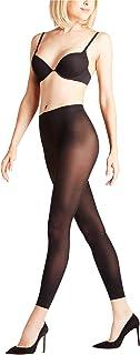 FALKE Leggings Matt Deluxe 30 Denier Damen schwarz blau viele weitere Farben Damenleggings transparent ohne Muster eng dünn und durchsichtig zum Rock oder Kleid 1 Stück