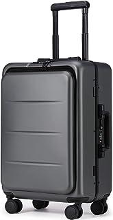 Roam.Cove NEWモデル スーツケース 軽量 機内持ち込み キャリーケース キャリーバッグ 静音 ビジネス フロントオープン TSAロック 出張 シンプル おしゃれ RC-SU028