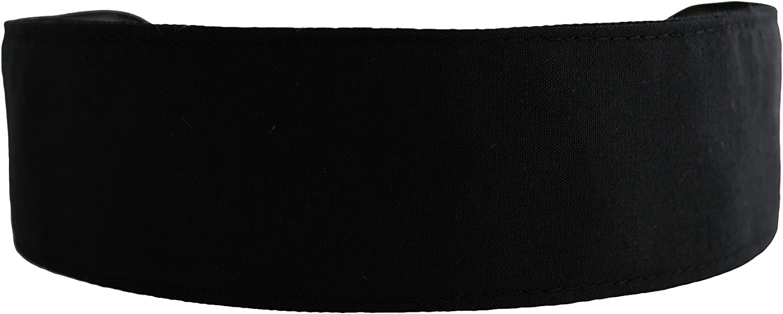 Skinny Headband, Deep Black Beautiful Soft Fabric Headband By Bargain Headbands