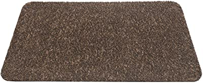 F&S Aquastop High Quality Heavy Duty Machine Washable Entrance Door Mat 60x100cm - Brown Made in Europe.