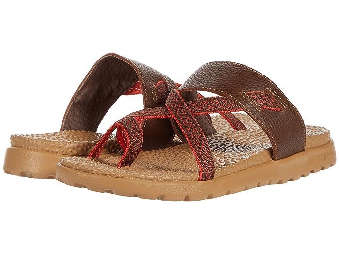 Acorn  Everyweartm Riley Sandal (Walnut Brown) Womens Sandals