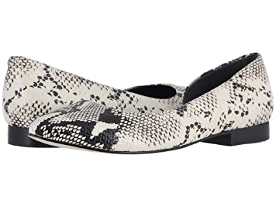 Walking Cradles Raya (Bone/Black Snake Print Leather) Women