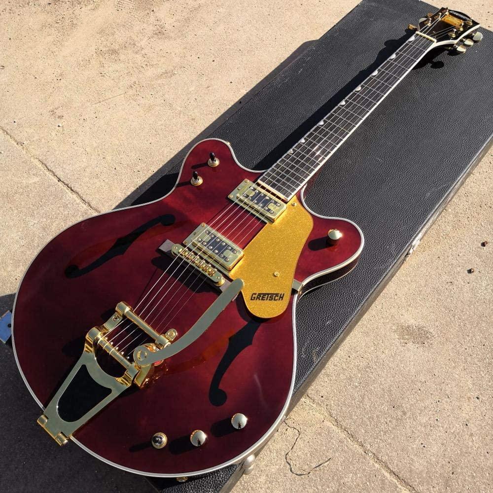 LYNLYN Guitars Red Electric Guitar Gold and St Max 58% OFF Acoustic Hardware Special price for a limited time