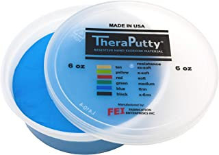Theraputty Exercise Putty, Blue, 6 oz