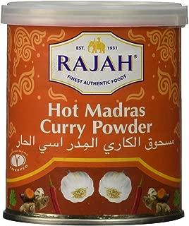Rajah Madras Brown Curry Powder, Hot, 3.5 Ounce