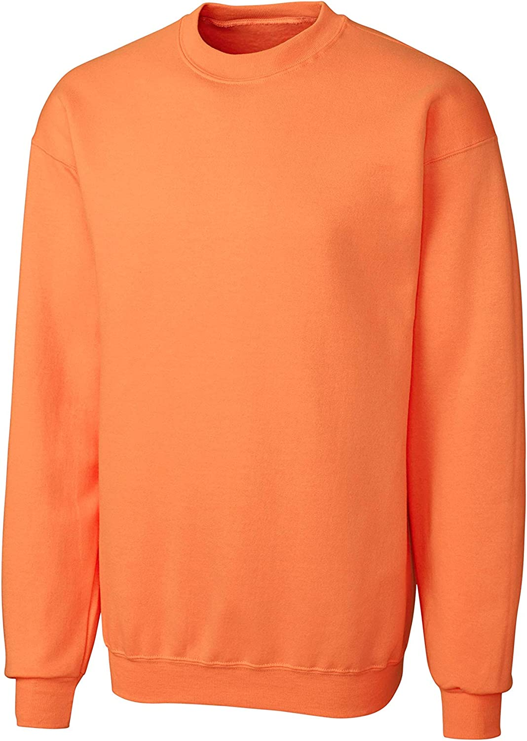 StoutMensShop Regular Big Tall Soft Crew Neck Sweatshirts to Size 7XL in 12 Colors