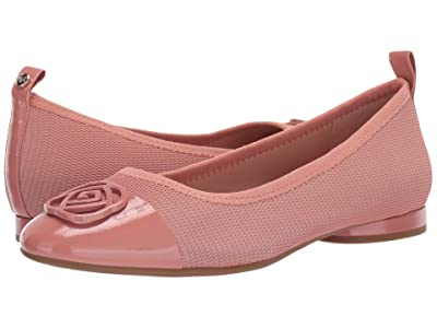 Taryn Rose Paige (Dusty Rose Mesh/Patent) Women