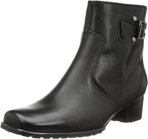 Jenny Genf-St - botas clásicas de Cuero mujer
