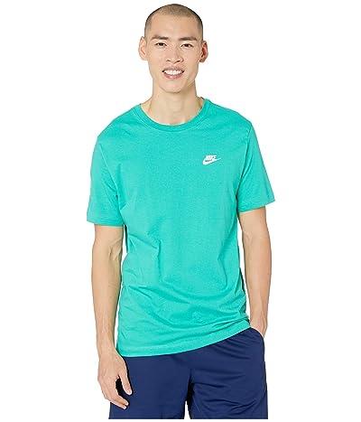 Nike NSW Short Sleeve Tee FW CLTR 1 (Kinetic Green/White) Men