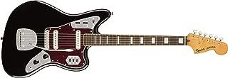 Squier by Fender Classic Vibe 70's Jaguar Electric Guitar - Laurel - Black