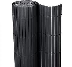 Portaombrelli in Metallo con vaschetta raccogli Acqua e Gancio E-starain Colore: Bianco//Nero Diametro: 20 x Altezza: 49 cm