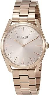 COACH watch modern luxury 14503111 Ladies