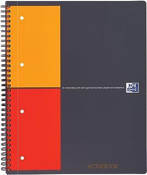Collegeblock Notepad A4 Spirablock Economy Pack of 3 kariert 3er Pack