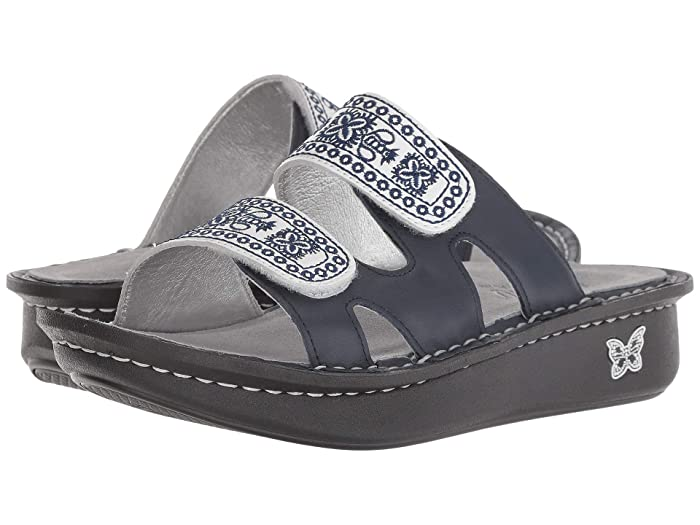 Alegria  Camille (Sew Cool Navy) Womens  Shoes