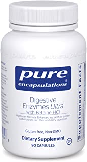 Pure Encapsulations - Digestive Enzymes Ultra with Betaine HCl - Comprehensive Blend of Digestive Enzymes with Betaine HCl...