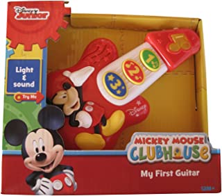 Disney Mickey Mouse My First Guitar, 7 Inches