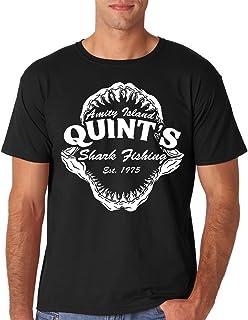 Sponsored Ad - AW Fashions Quint`s Shark Fishing Amity Island Jaws Funny 70`s Movie Premium Men`s T-Shirt