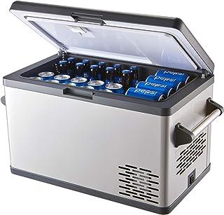 Aspenora 37-Quart Portable Freezer Fridge 12V Car Refrigerator Car Fridge with Compressor, Dual Zone, LCD Display for Truc...