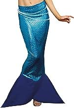 Dreamgirl Women's Metallic Mermaid Skirt