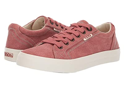 Taos Footwear Plim Soul (Terracotta Wash Canvas) Women
