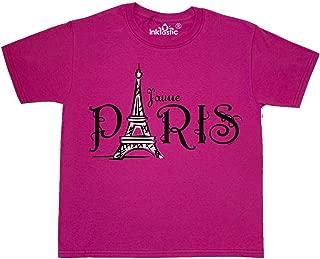 inktastic - J'aime Paris Youth T-Shirt 252a3
