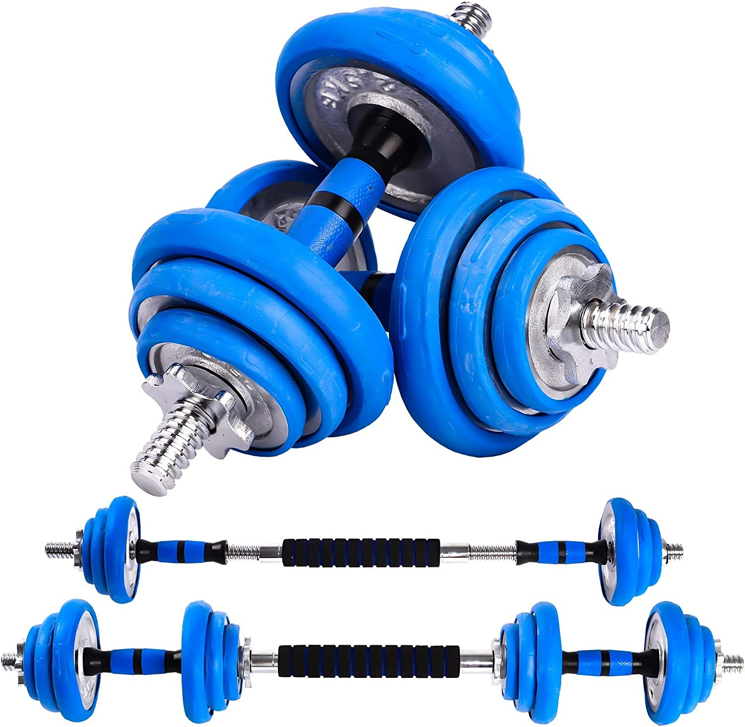 SUWLIN Adjustable Dumbbells Set – Selling 2 in Dumbbell and Barbe 1 New arrival