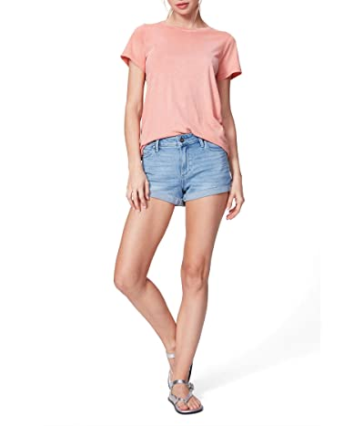 Paige Jimmy Jimmy Shorts w/ Raw Cuff in Belle (Belle) Women