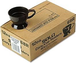 Solo 68RWA Walnut Cozy Cup Holder (Case of 12)