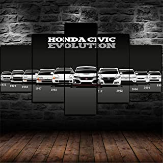 honda civic wall art