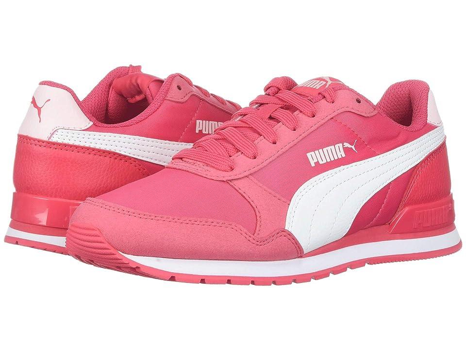 Puma Kids ST Runner v2 NL (Big Kid) (Paradise Pink/Puma White) Girls Shoes