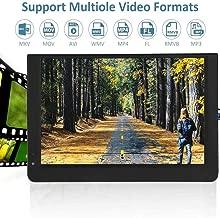 Car Digital TV, 12in 1080P HDMI Video ColorScreen Camera Portable Car Digital TV ATV/UHF/VHF Stereo Surrounding Car Television Mini Television (#1)