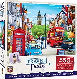 Masterpieces Travel Diary London 550 Pieces Puzzle
