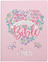 ESV Holy Bible, My Creative Bible For Girls, Pink Flexcover Bible w/Ribbon Marker, Illustrated Coloring, Journaling and De...