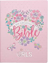 ESV Holy Bible, My Creative Bible For Girls, Pink Flexcover Bible w/Ribbon Marker, Illustrated Coloring, Journaling and Devotional Bible, English Standard Version