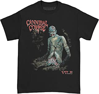 Men's Vile T-Shirt Black