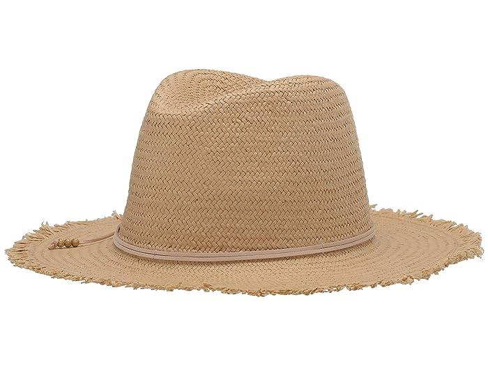 Hat Attack  Fringe Travel Hat (Toast/Blush) Caps