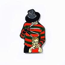 Freddy Krueger Nightmare on Elm Street Horror Pendant Lapel Hat Pin