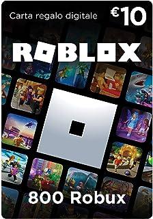 Carta Regalo Roblox - 800 Robux