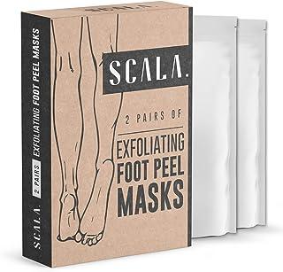 Foot Peel Exfoliating Mask (2 Pairs) for Soft Feet - Exfoliant Gel Peels Away Rough Dry Skin and Callus