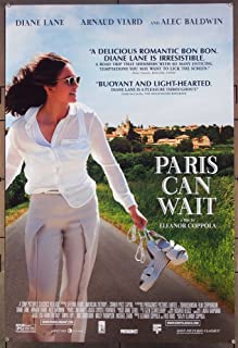 Paris Can Wait (2016) Original One Sheet Poster (27x41). Rolled Very Fine DIANE LANE ALEC BALDWIN Film Directed by Eleanor Coppola