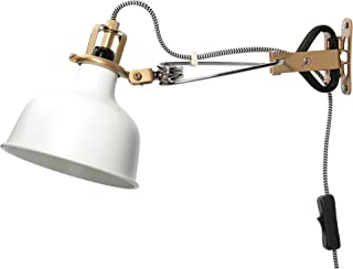 IKEA Wall Lamp Clamp Spotlight Off-White Ranarp