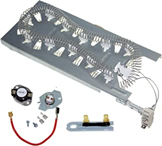 3387747 Heating Element 279816 Thermostat Cut off Kit 3392519 Thermal Fuse for Maytag Whirlpool dryer Heater Heating Element Assembly