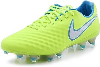 Nike Women's Magista Opus II FG Soccer Cleat - (Volt/White/Barely Volt/Chlorine Blue)