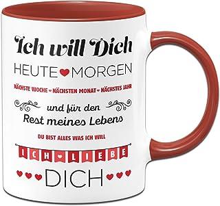 You/'Re Mein Otter Halb 284ml Becher Tasse Lustig Valentinstag Freundin Ehefrau