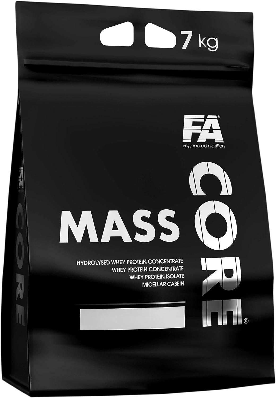 Fitness Authority MassCore Paquete de 1 x 7000g - Gainer - Proteína en Polvo - Masa - Suero de Leche con Carbohidratos - Músculo - Pre-Entrenamiento - ...