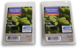 Better Homes and Gardens Holiday Themed Scented Wax Cubes Bundle - Fresh Cut Frasier
