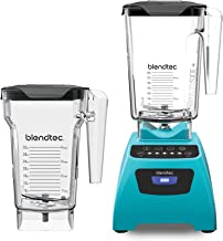 Blendtec WP-ICE-CR-MB Classic 575 Countertop Blender, 90 oz wildside and 75 oz fourside, Caribbean