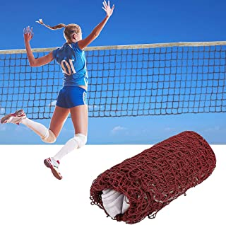 Latocos Red de Bádminton Ajustable Portátil Red de Tenis Voleibol de Entrenamiento Profesional para Playa Jardín Juegos Al Aire Libre de Interior (6.1 m x 0,76 m)