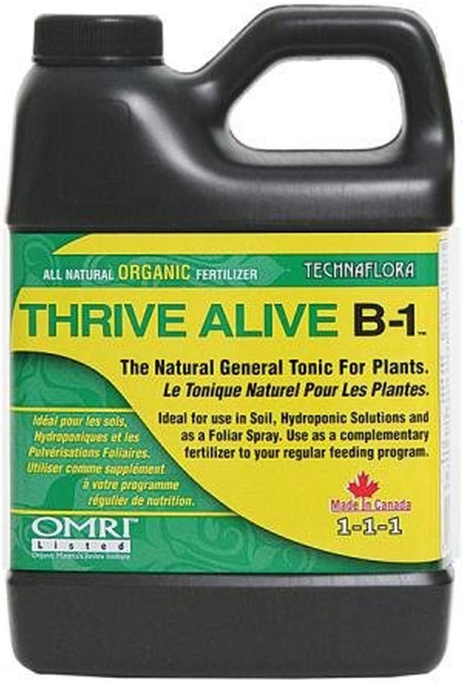 THRIVE ALIVE B-1 GREEN Ranking integrated 1st place Organic 35% OFF Tonic 500ml Based Plant Seaweed